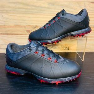 New Nike Lunar Fire Golf Shoes Black Waterproof